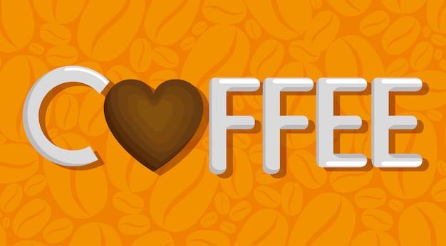 Heerlijk koffiekopje met hart