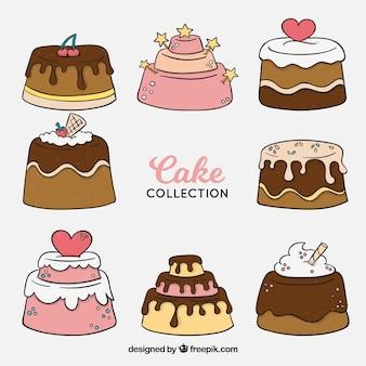 Heerlijke cakesverzameling