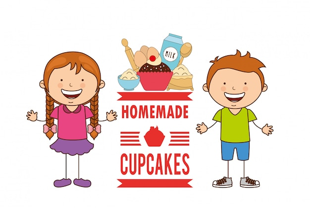 Heerlijke cupcake
