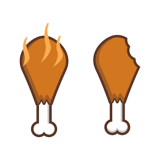 Heerlijke gebakken kip