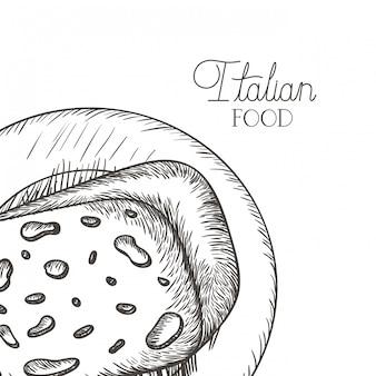 Heerlijke kaas in tekenpictogram