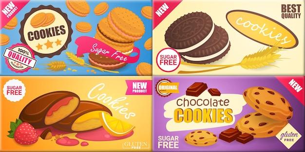 Heerlijke koekjes met verschillende vullingen