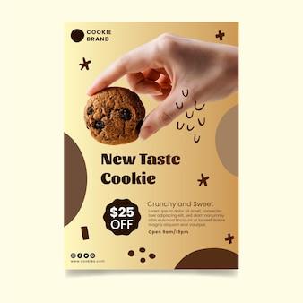 Heerlijke koekjes poster sjabloon