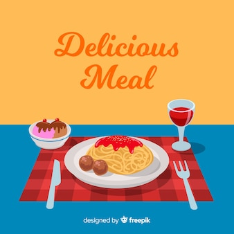 Heerlijke maaltijd