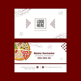 Heerlijke pizza concept