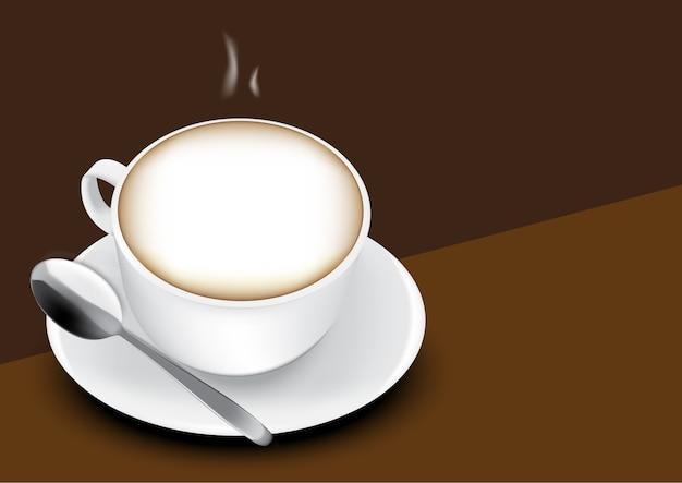 Heet espresso café