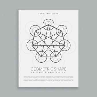 Heilig metatron geometrische vorm