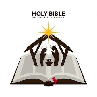Heilige bijbel ontwerp
