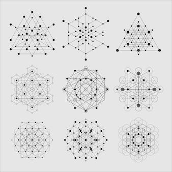 Heilige geometrie-elementen