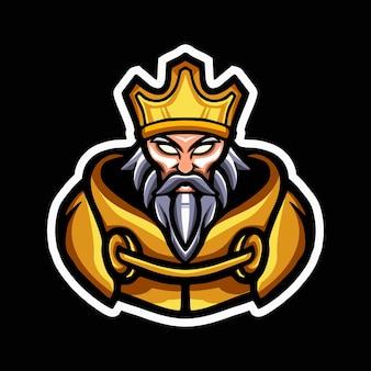 Heks mascotte logo ontwerp