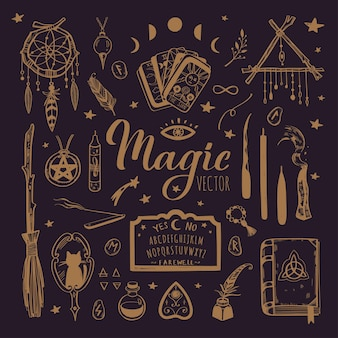 Hekserij, magische achtergrond voor heksen en tovenaars. wicca en heidense traditie.