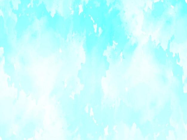 Helder blauwe aquarel textuur achtergrond