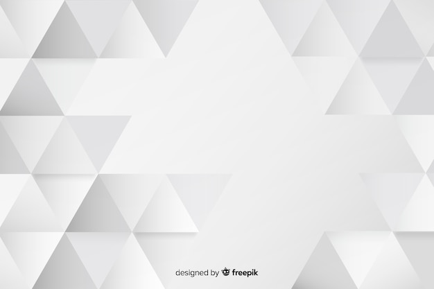 Helder geometrisch vormenconcept als achtergrond