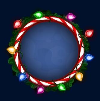 Helder kerstmiskader