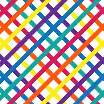 Helder kleurrijk naadloos abstract patroon
