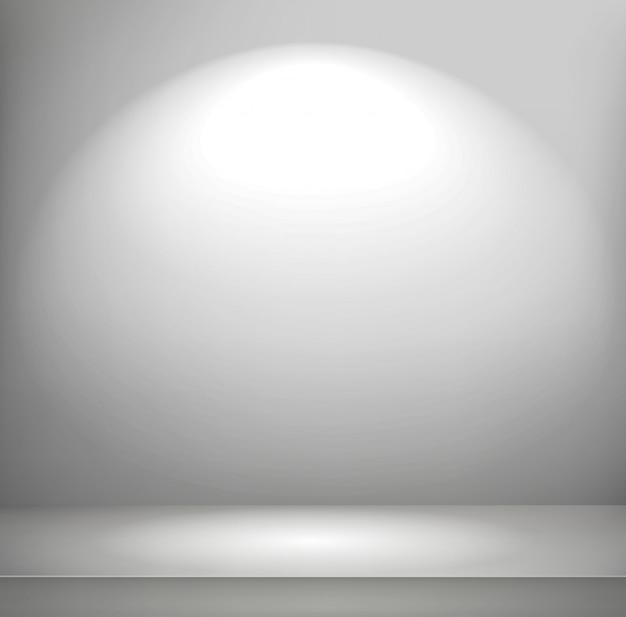 Helder verlichte kamer
