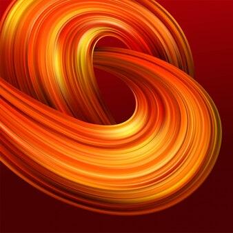Heldere abstracte achtergrond met kleurrijke wervelingsstroom.