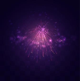 Heldere feestelijke explosie van een groet op een vervangbare mozaïekachtergrond, een gevoel van feest