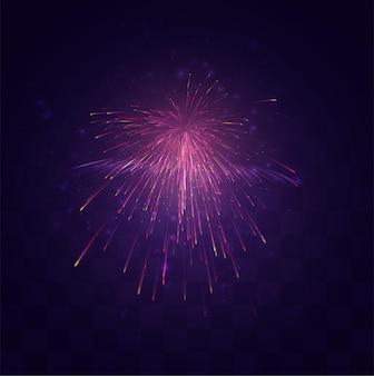 Heldere feestelijke explosie van een vectorgroet op een vervangbare mozaïekachtergrond, een gevoel van feest