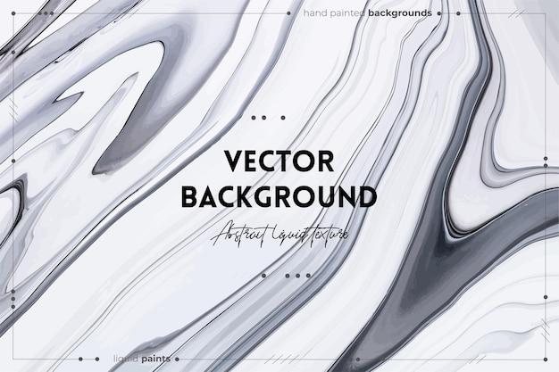 Heldere hars kunst abstracte achtergrond multicolor marmeren oppervlak minerale steen textuur zwart-wit...