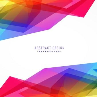 Heldere kleurrijke abstracte achtergrond ontwerp