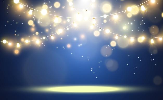 Heldere mooie lichten