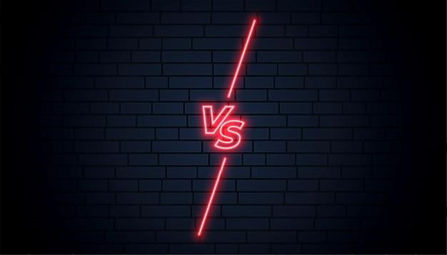 Heldere muur versus schermachtergrond