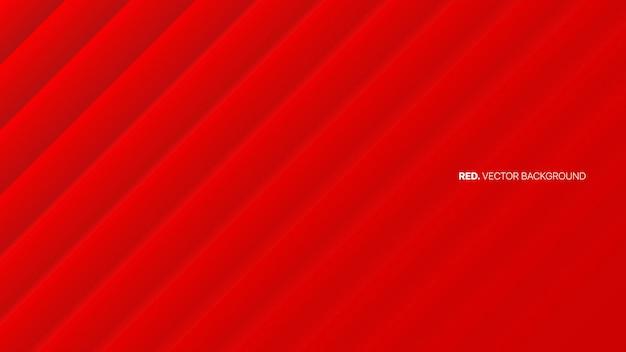 Heldere rode vage lijnen abstracte achtergrond