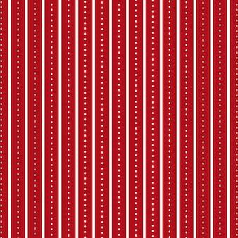 Helderrode achtergrond met parallelle lijnen en punten als naadloos patroon