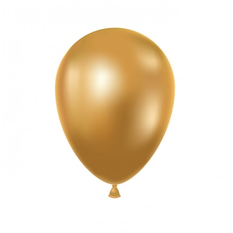 Heliumballon op wit