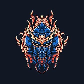 Hell fire samurai