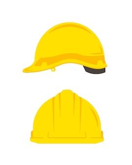 Helm pictogram op witte achtergrondplat ontwerp pictogram vectorillustratie