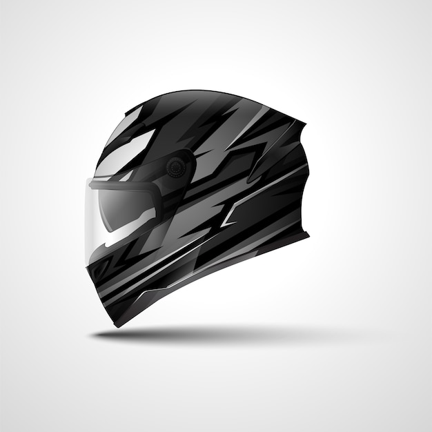 Helm race sport wrap ontwerp