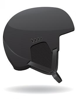 Helm voor snowboarden.