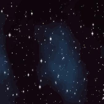 Hemel vol sterren textuur Gratis Vector