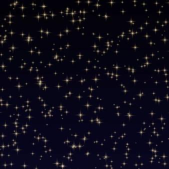 Hemelachtergrond met sterren