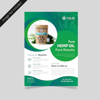 Hennep product flyer design