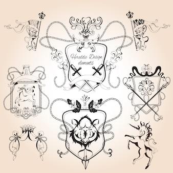 Heraldische ontwerpelementen