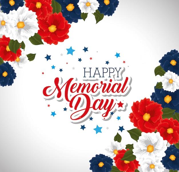 Herdenkingsdag met prachtige bloemen