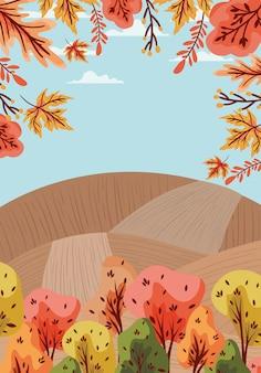 Herfst achtergrond