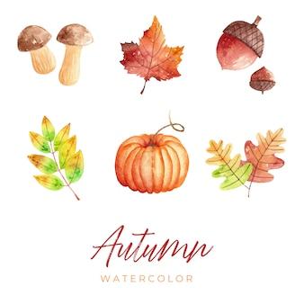 Herfst aquarel