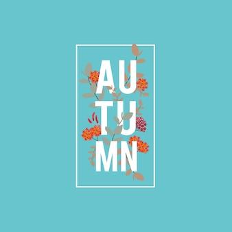 Herfst banner, verkoop en korting banner, automn element en websjabloon.