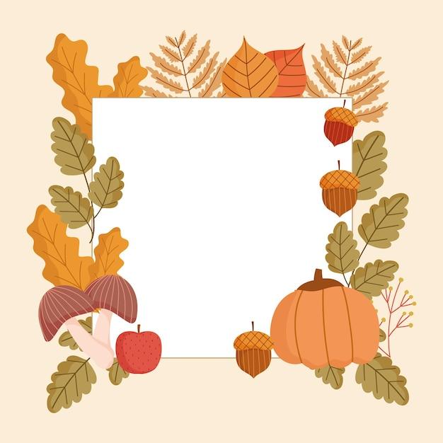 Herfst bannerstijl