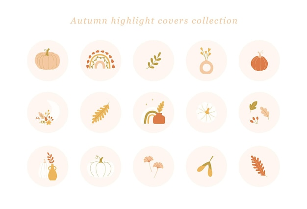 Herfst highlight covers-collectie