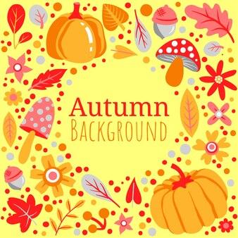 Herfst kleurrijke achtergrond