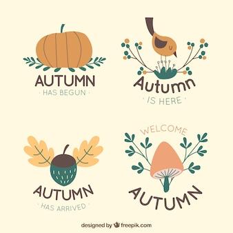 Herfst logo collectie