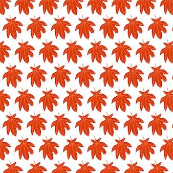 Herfst naadloos vectorpatroonontwerp
