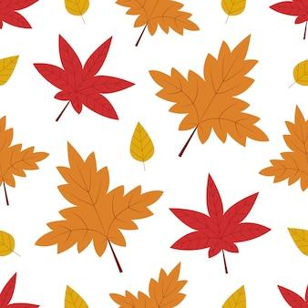Herfst naadloze patroon