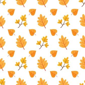 Herfst naadloze patroon.