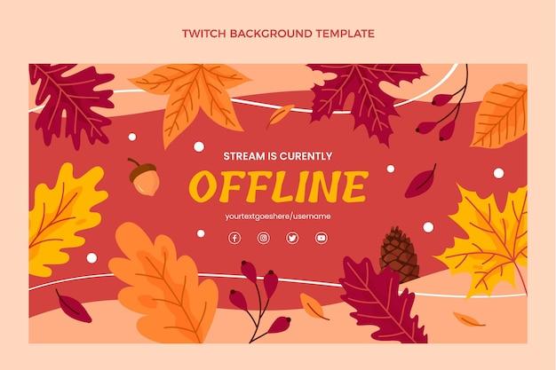 Herfst twitch achtergrond